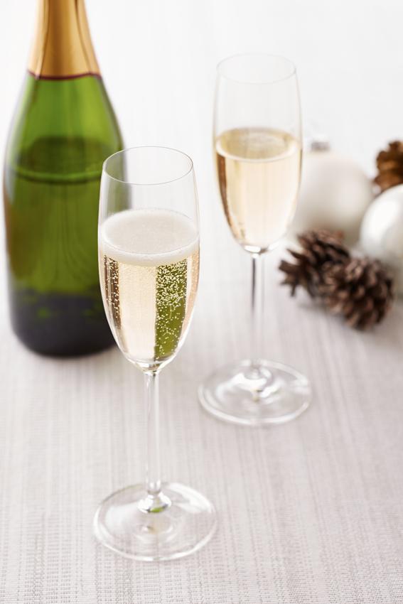 Um brinde à chegada de 2015! (foto: Shutterstock)