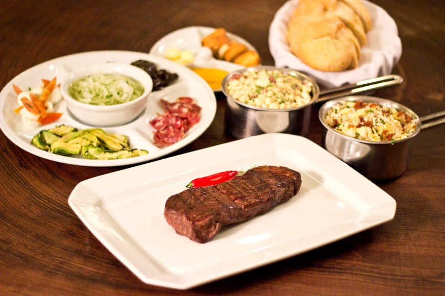 O rump steak, retirado da alcatra, é uma das sugestões do festival