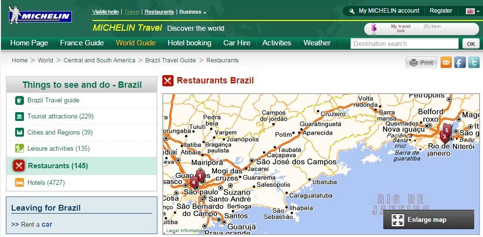 Lista de restaurantes do Guia Michelin Rio e São Paulo 2015 é revelada