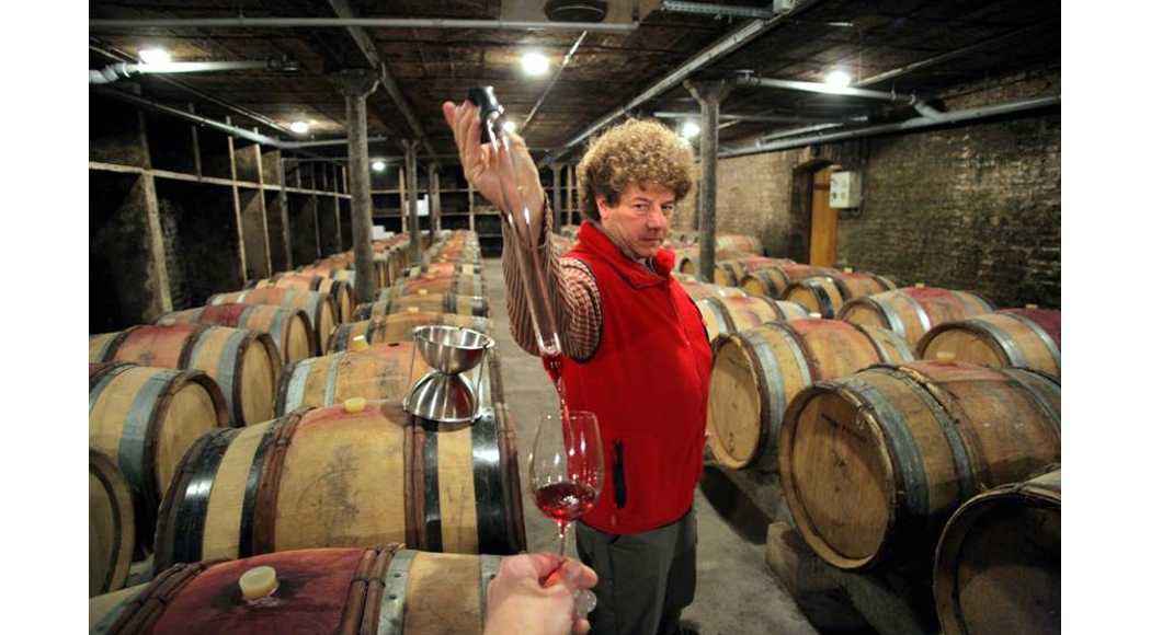 O produtor francês de vinhos naturais não crê no aquecimento global (foto: divulgação)