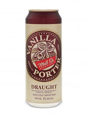 Vanilla Porter é um dos rótulos da canadense Mill St, que chega ao Brasil (foto: divulgação)