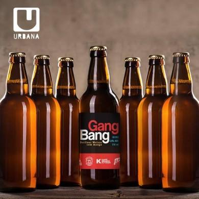 A Gang Bang é fermentada com lactobacilos e tem um toque de manga (foto: divulgação)
