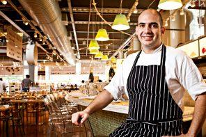 O chef José Barattino assina o cardápio do novo espaço dedicado ao risoto (fotos: Felipe Gabriel/Ag. IstoÉ)