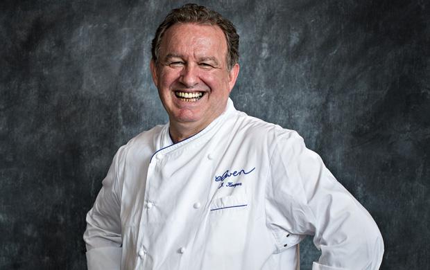 O chef Joachim Koerper, autor das receitas