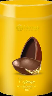 Elaborado pela chef patissière Giuliana Cupini, o ovo apresenta casca recheada de cupuaçu (foto: divulgação)