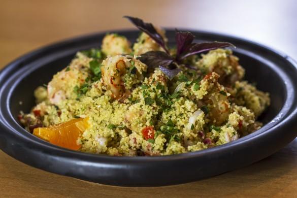 Couscous marroquino com frutos do mar: sugestão da chef Morena Leite (foto: divulgação/ Cristiano Lopes)