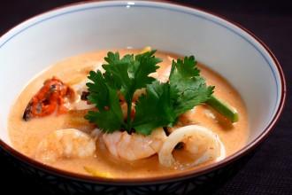 A caldeirada de frutos do mar é uma das estrelas do cardápio do Sawasdee (foto: divulgação/ Thiago Sodré)