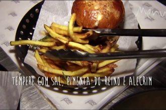 Chef ensina todos os truques de preparo da batata frita