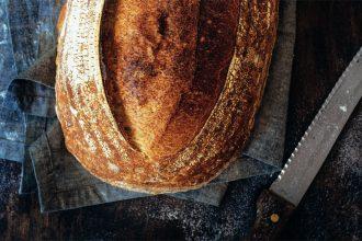 Pão do campo, elaborado por Hanny Guimarães (fotos:  Roberto Seba; produção: Marcia Asnis)