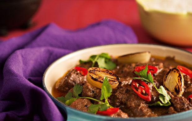 O curry mussaman vem da Tailândia e tem sua origem na comunidade muçulmana que mora no país