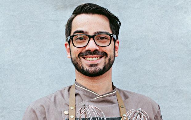 O chef confeiteiro Lucas Corazza, autor das receitas açucaradas