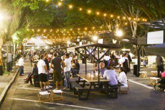 A feira gastronômica Foodspot reúne diversos restaurantes paulistanos, que oferecem pratos até R$ 25 (foto: divulgação)