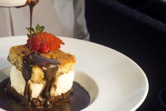 Brownie do restaurante Victoria (foto: divulgação/ Sergio Pagano)