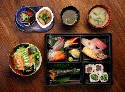 O kaisen bentô é uma das sugestões do chef Shin Koike (foto: divulgação)