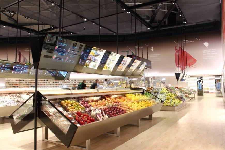 Sucesso na Expo,'Supermercado do futuro' é aberto em Milão