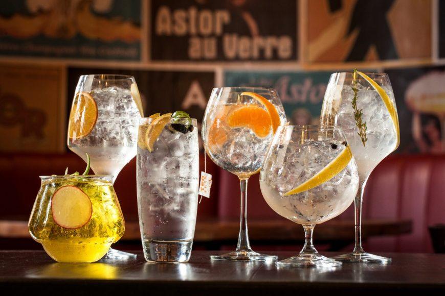 Astor lança nova carta de gim-tônicas