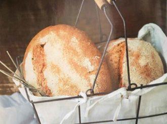 Pão de centeio feito por Rogério Shimura, do Levain (Foto: Rafael Hupsel/Ag. Istoé)