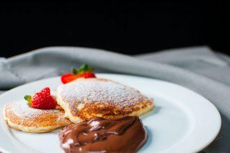 Receita de panqueca americana com chocolate (Foto: Divulgação)