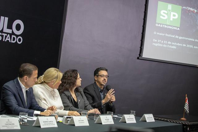 Governo de SP lança programa gastronômico para o mês de outubro