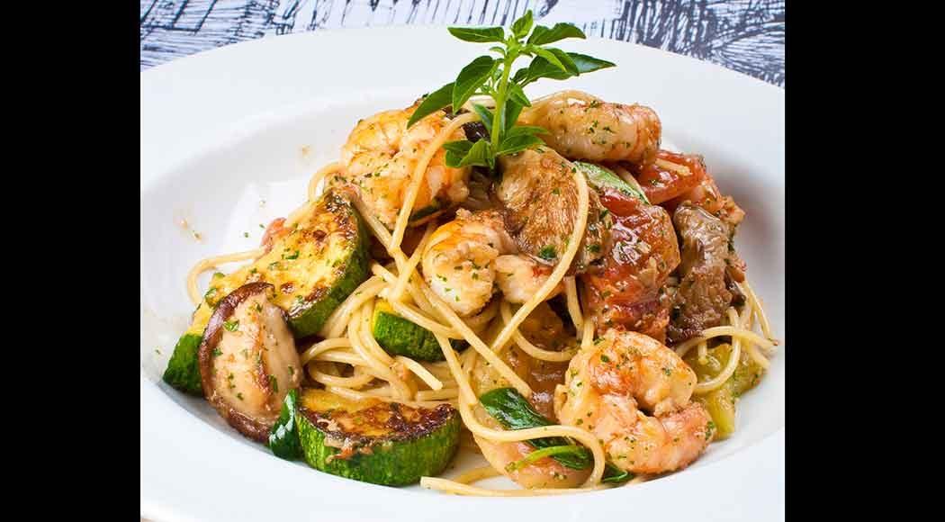 Spaghettini com camarões (Foto: Divulgação)