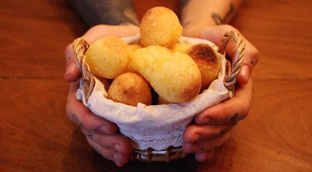 Receita simples de pão de queijo vegano(Foto: Divulgação/Vaca Ateliê Culinário)
