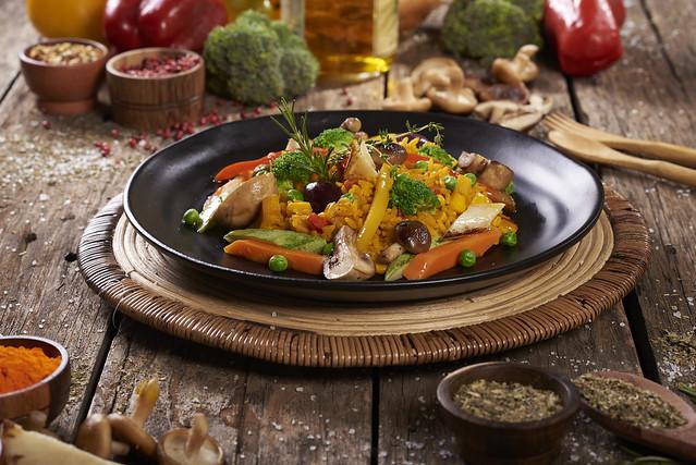 Segunda sem carne: veja como preparar uma paella vegetariana