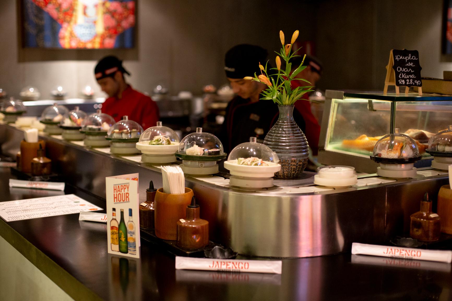 Chef Minato realiza jantar a quatro mãos com Gilson Amorin no restaurante Japengo
