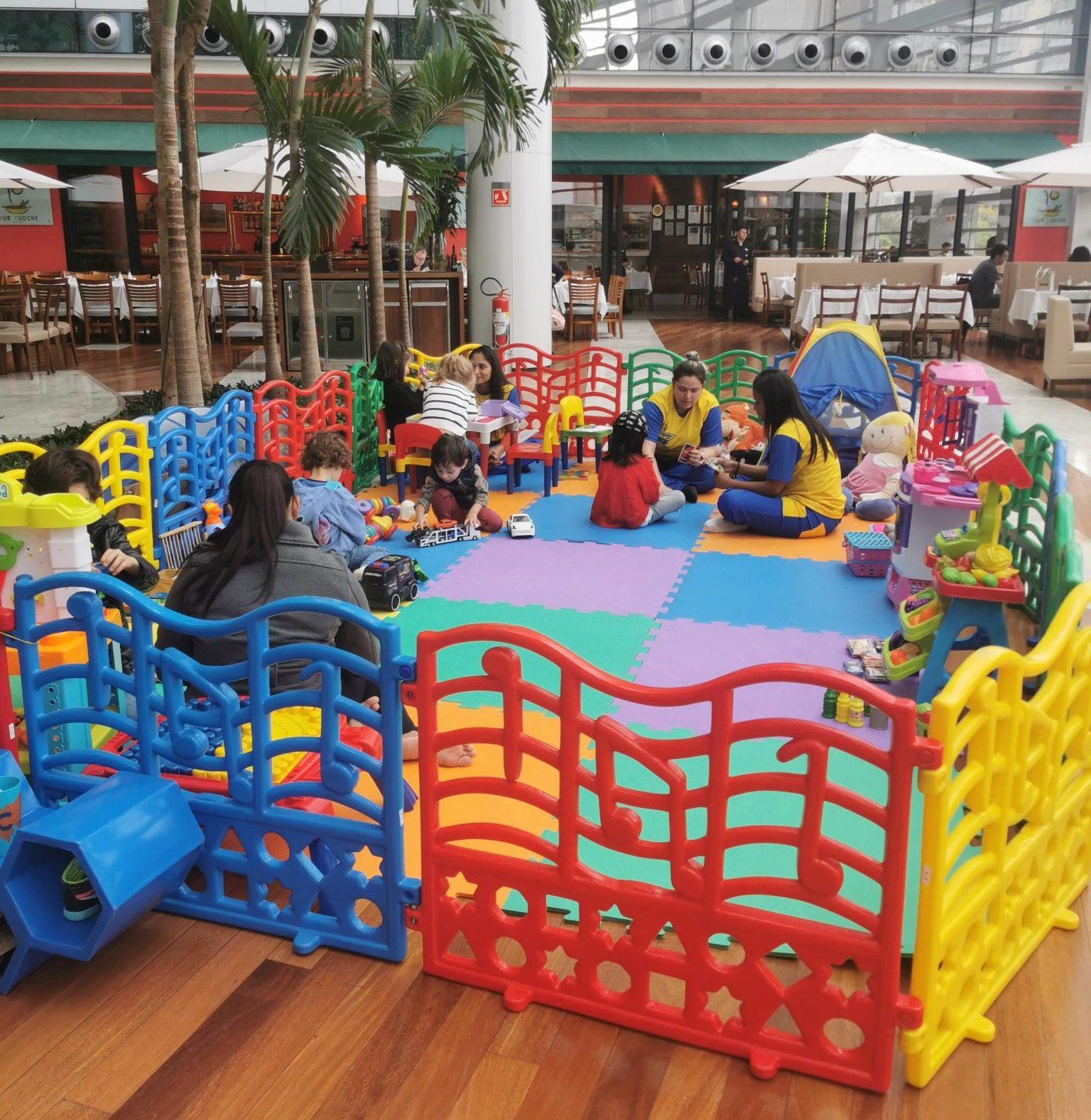 Conheça os restaurantes com espaço reservado para crianças em São Paulo