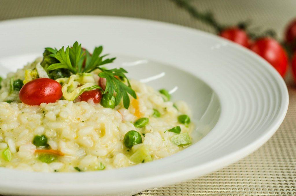Risoto de legumes é opção para a segunda sem carne no Bistrô Nonna Lilla