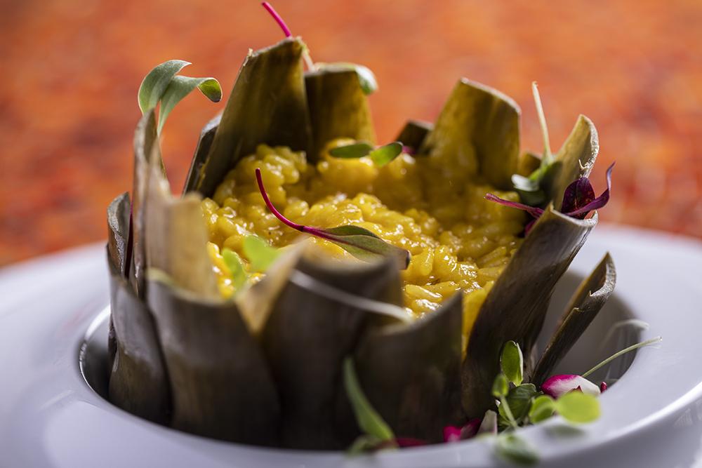 Alcachofra é destaque no cardápio do restaurante Cantaloup