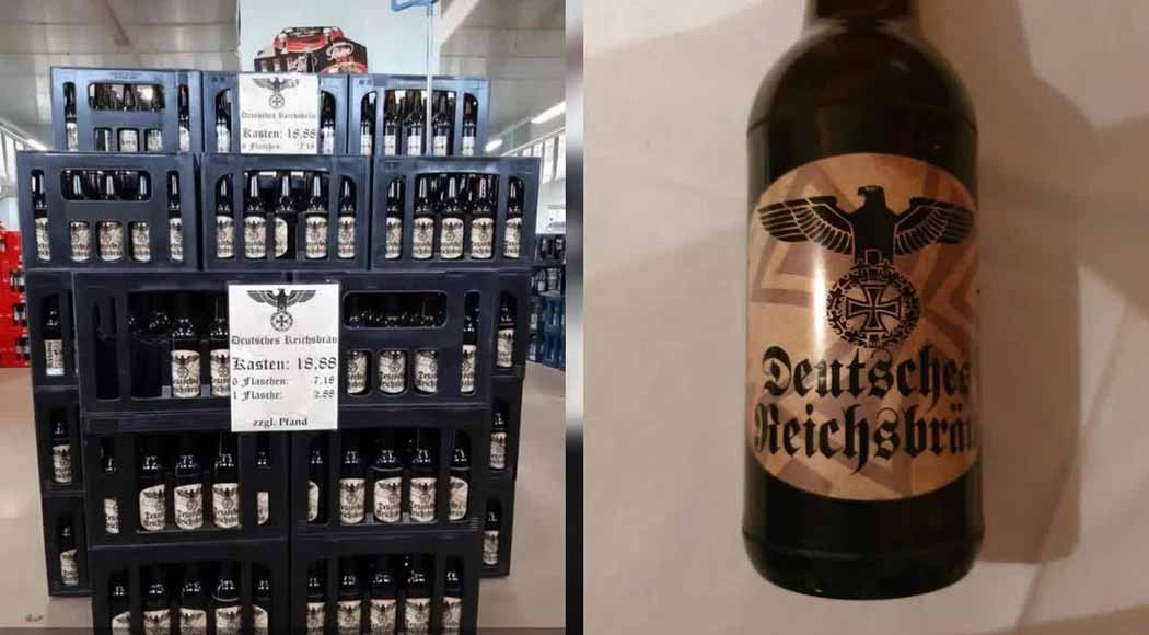 Polícia alemã investiga venda de cerveja neonazista