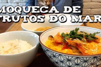 Veja como preparar uma deliciosa moqueca de frutos do mar