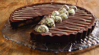Aprenda a fazer uma deliciosa torta de chocolate com banana. Foto: Divulgação