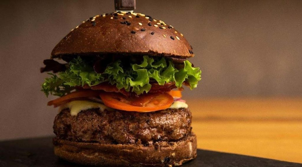 Burger Black Angus, por restaurante D'autore