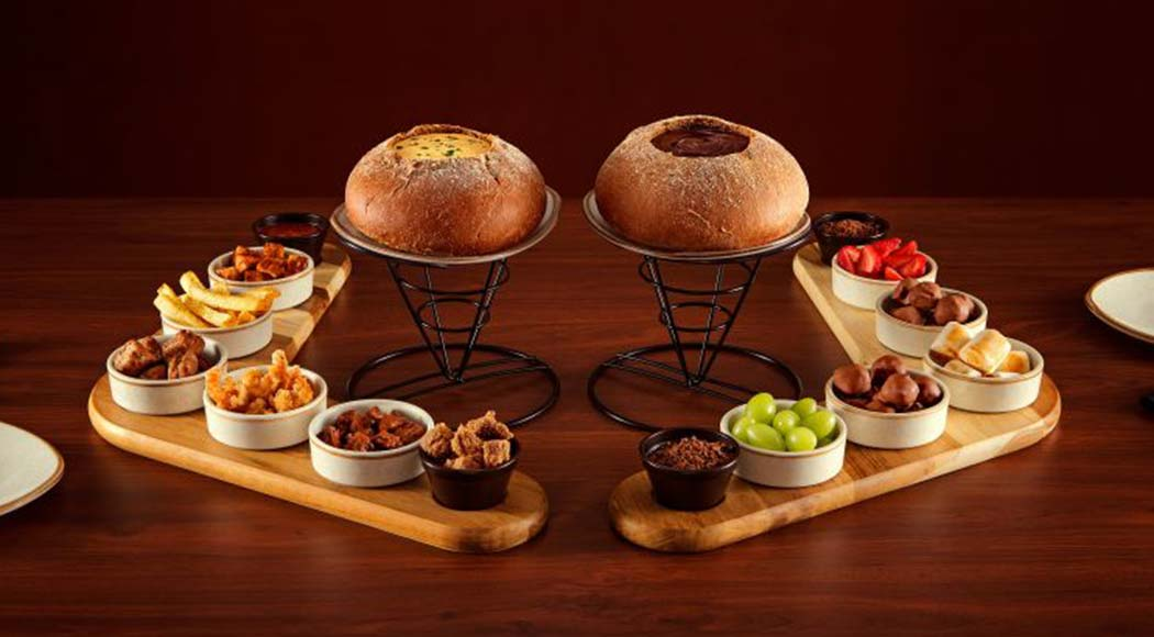 Outback traz de volta ao menu versões salgada e doce de fondue