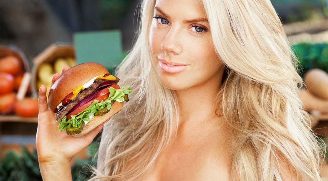 Conheça a modelo que ficou famosa por causa de um hambúrguer