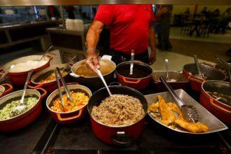 Crise leva ao fechamento de 40% dos restaurantes de comida a quilo